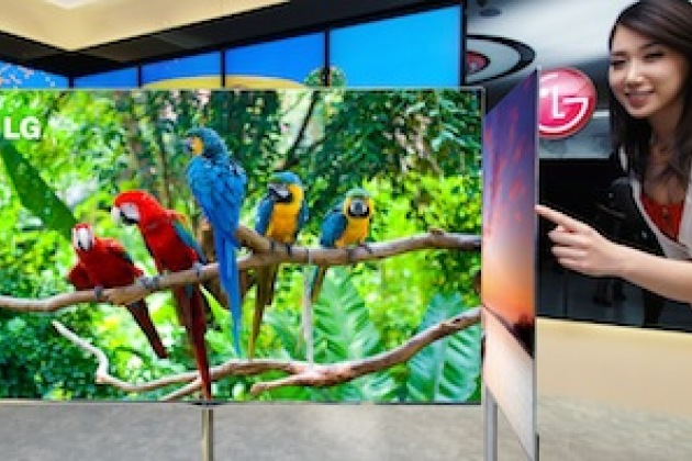 La TV OLED de LG sera disponible au printemps 2013