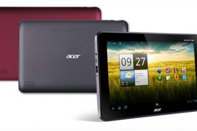 Nouvelle Iconia Tab pour Acer