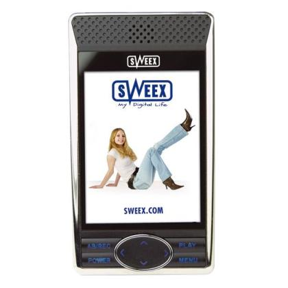 Sweex Blizzard MP4 Player FM - 1 Go