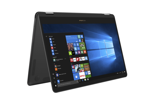 Ultra-portable ZenBook Flip