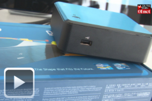 Intel NUC, le plus petit PC du monde