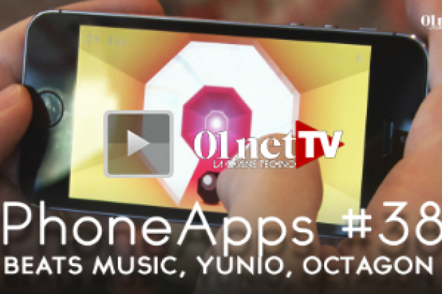 Phone Apps #38 : Beats Music, Yunio, Human, Octagon