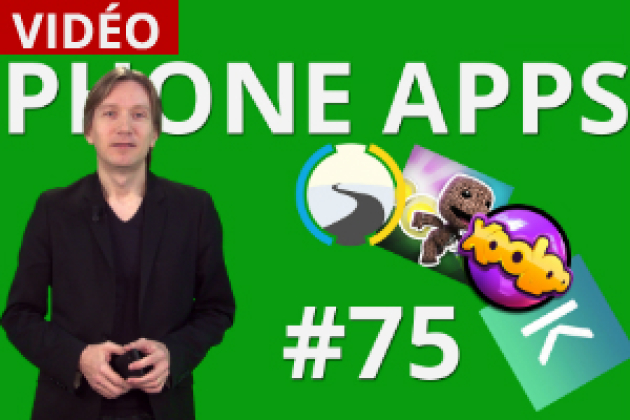Phone Apps #75 : e-constat, Kudoz, Xooloo App Kids, Run Sackboy Run! (vidéo)