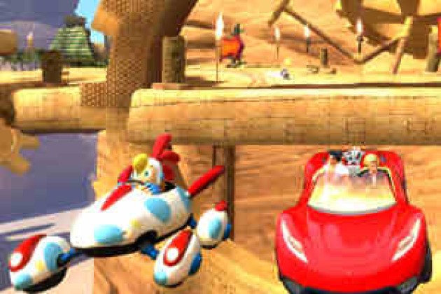 Sonic %26 Segal All Stars Racing, de Sega