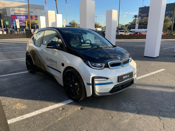 La version Urban Suite de la BMW i3.