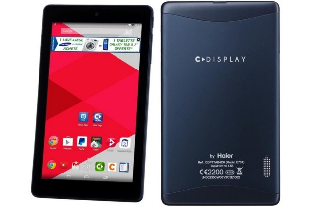 Tablette 7 pouces Cdisplay