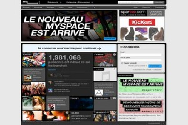 MySpace capitule face à Facebook