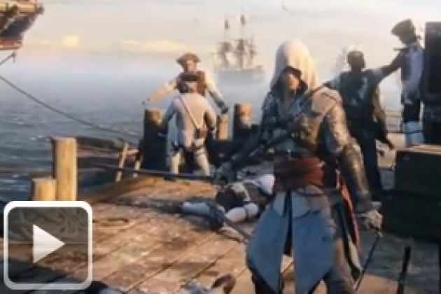 Vidéo : Assassin's Creed 4 Black Flag ne craindra pas les pirates !