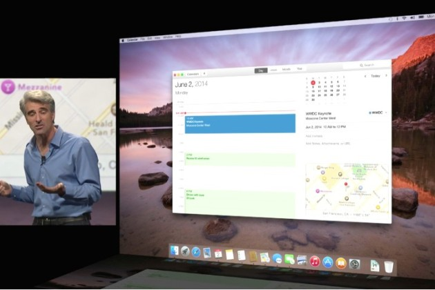 Apple lance Mac OS X Yosemite