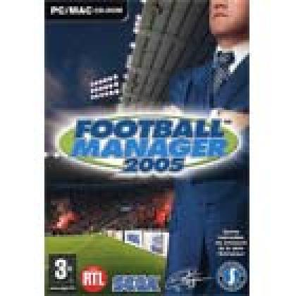 Football Manager 2005, de Sega