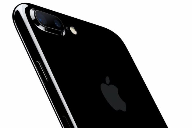 L'iPhone 7 en version noir de geais.