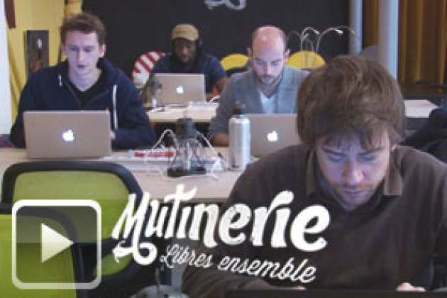 Mutinerie revisite le coworking