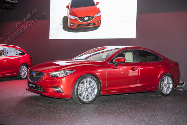 Mazda 6  : la séductrice
