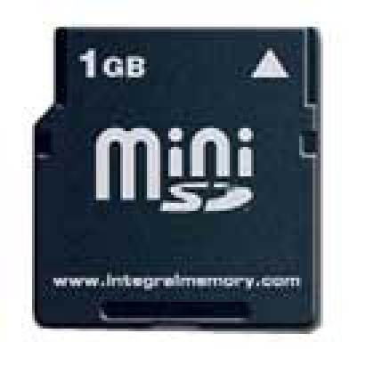 Les cartes Mini SD d'Integral atteignent 1 Go