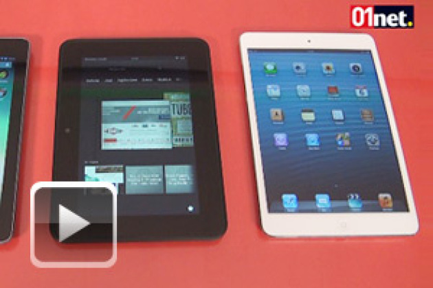 iPad mini, Nexus 7 et Kindle Fire HD, match en 8 rounds