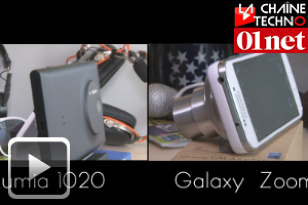 Duel de photophones : Nokia Lumia 1020 vs Samsung Galaxy S4 zoom