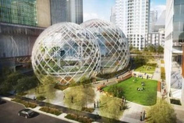 Amazon veut construire un campus futuriste à Seattle