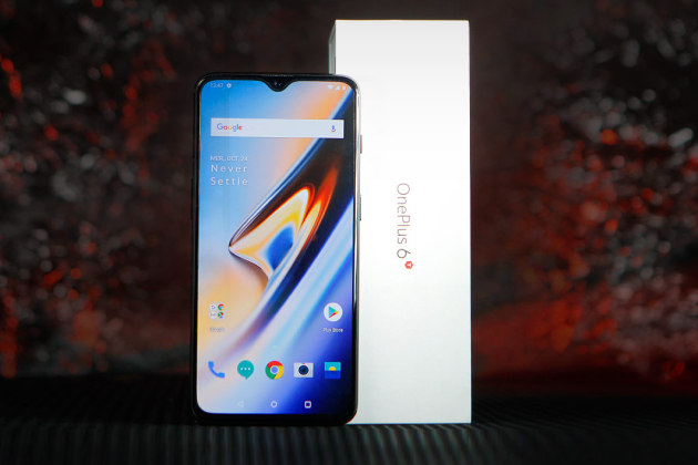 Le OnePlus 6T.