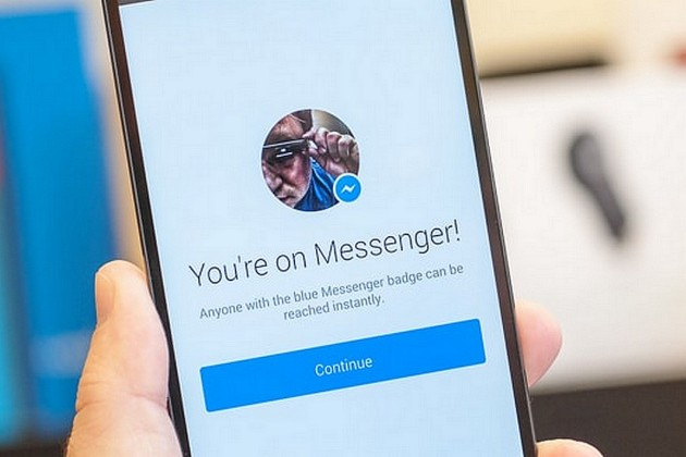 Android : Facebook Messenger teste les fenêtres de notification actives