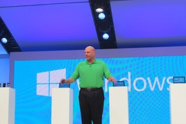 Windows 8 : Ballmer ouvre la Build 2012 en VRP de luxe