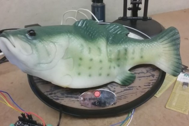 Un poisson robot transformé en assistant personnel.