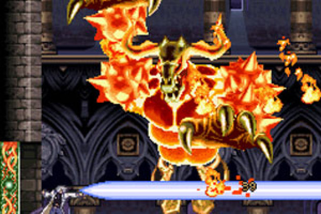 <i>Castlevania Dawn of Sorrow</i>, de Konami