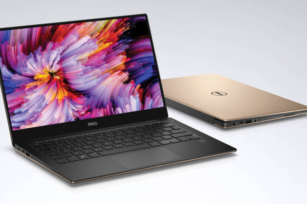 Dell XPS 13 Kaby Lake Rose Gold