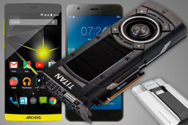 Archos 50 Diamond, Jiayu S3, GeForce GTX Titan X... le top des tests