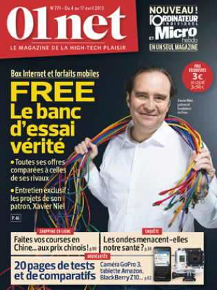 Le magazine 01net arrive en kiosque