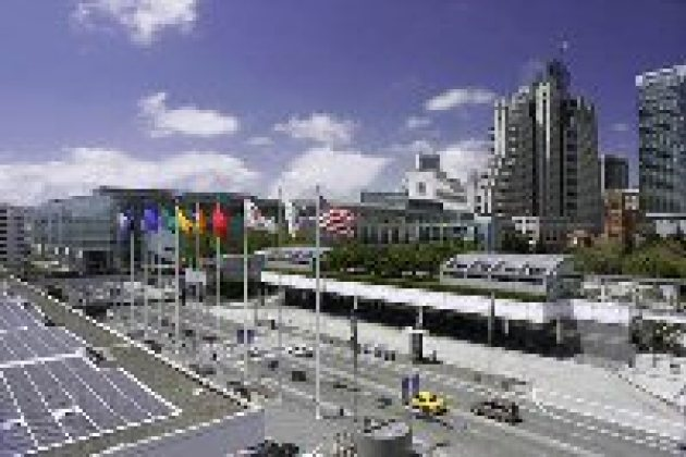 Le Moscone Center de San Francisco, où se tiendra OpenWorld en octobre