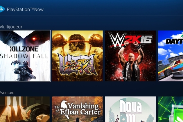 Sony : le PlayStation Now (enfin) lancé en France