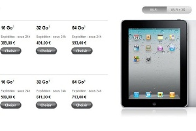 Apple brade ses iPad 1 [MAJ]