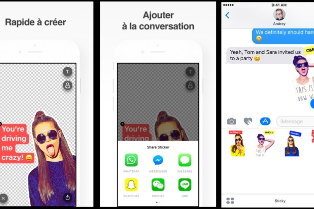 Sticky AI, l'appli qui transforme vos selfies en stickers