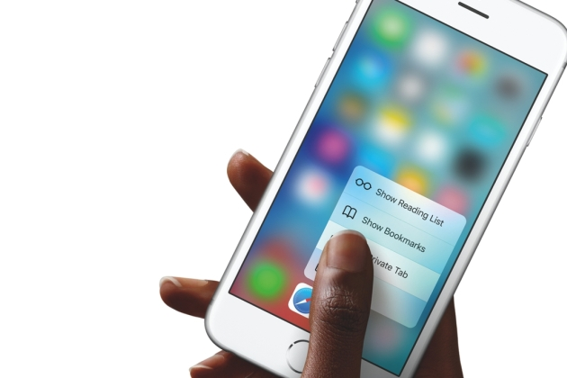 Apple iPhone 6s 3D Touch