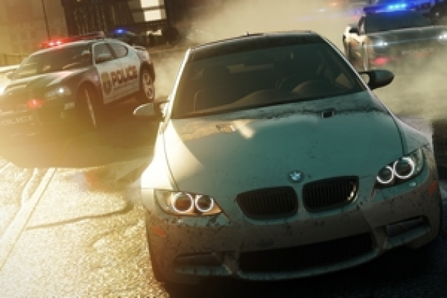 TEST Need for Speed Most Wanted, pneus bouillants et tôles froissées