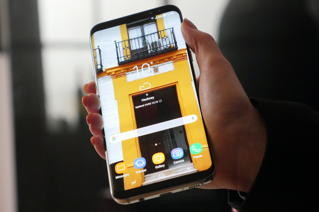 On a essayé le Samsung Galaxy S8: c'est grand !