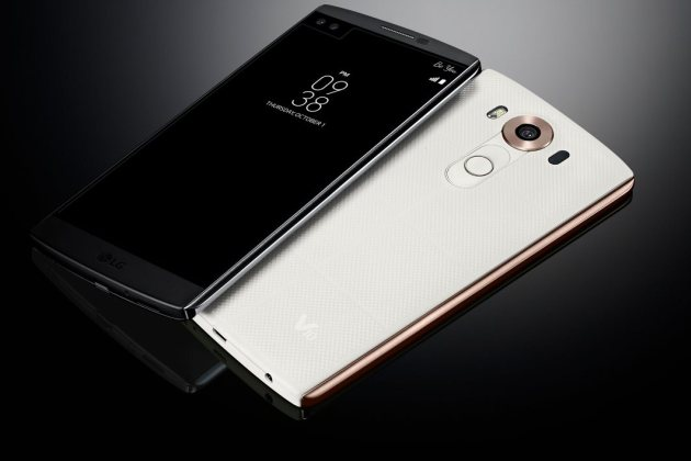 LG officialise le V10, son smartphone à double écran