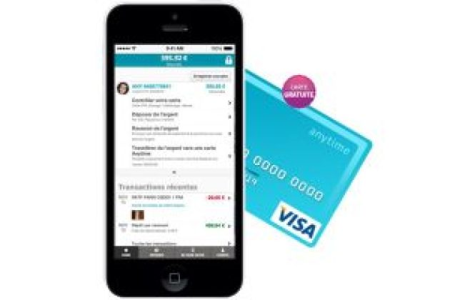 Startup : Anytime  propose une carte visa gratuite et anonyme