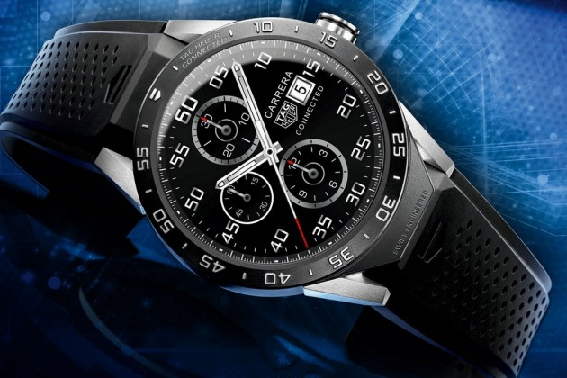 Tag Heuer Connected Watch : la montre de luxe sous Android Wear