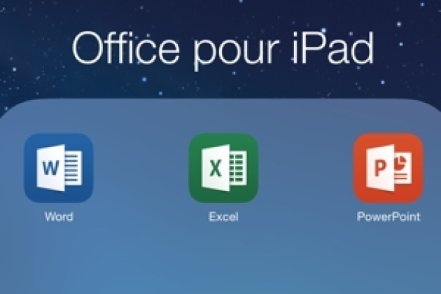 Office sur iPad : premier contact en images