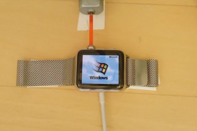 Ce développeur installe Windows 95 sur son Apple Watch