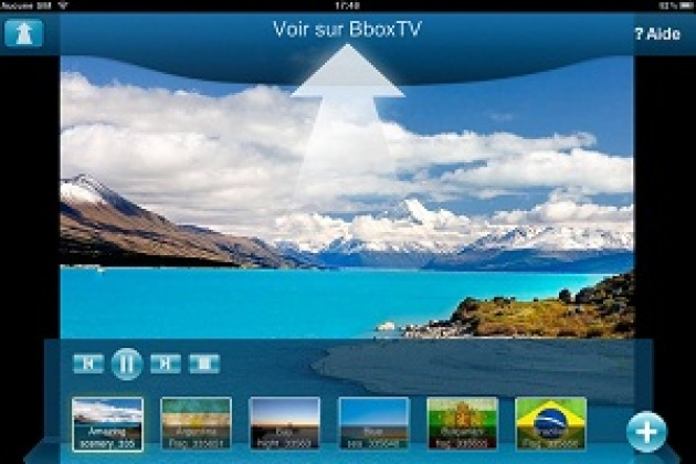 Bouygues Telecom lance une appli Media Center pour tablette