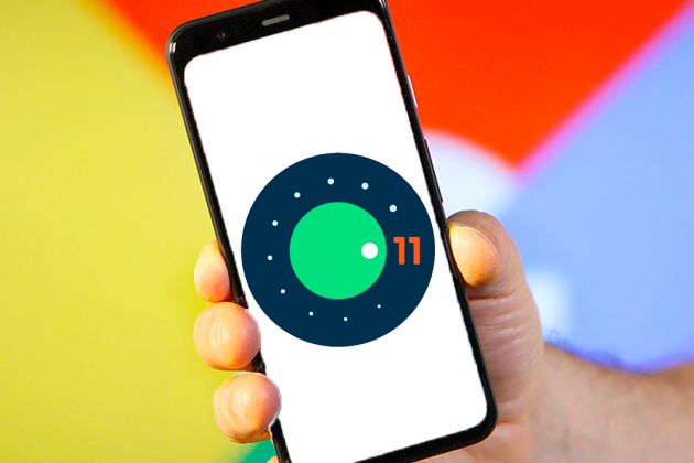 Le logo d'Android 11.