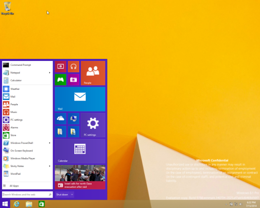 Windows 8.1 Update 2 lancé le 12 aout ?