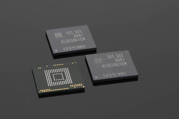 Samsung SSD 256Go UFS Flash Modules