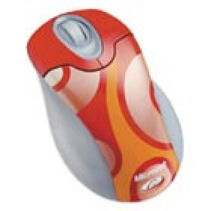 Microsoft Wireless Optical Mouse Groovy