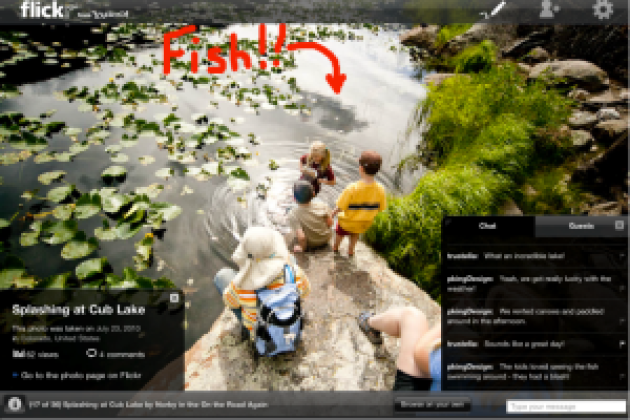 Flickr: Photo Session et application Android