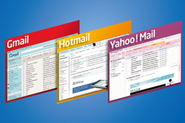 Gmail, Yahoo! Mail, Hotmail... le grand match des webmails