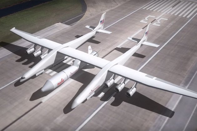 Stratolaunch, l'avion gigantesque de Paul Allen prêt à être testé