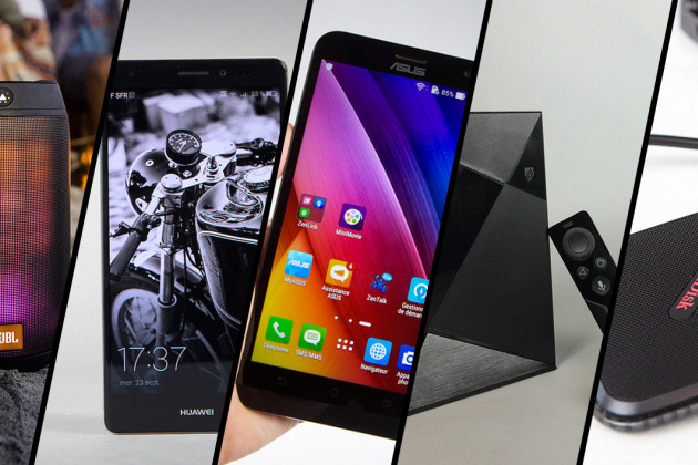 Mate S, Zenfone 2 Laser, Shield Android TV… le top 5 des tests